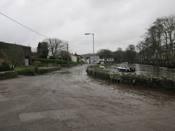 Park Road after flood