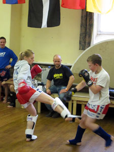 West Area Kick Thai boxing