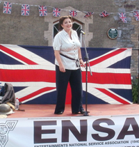 ENSA musical entertainer