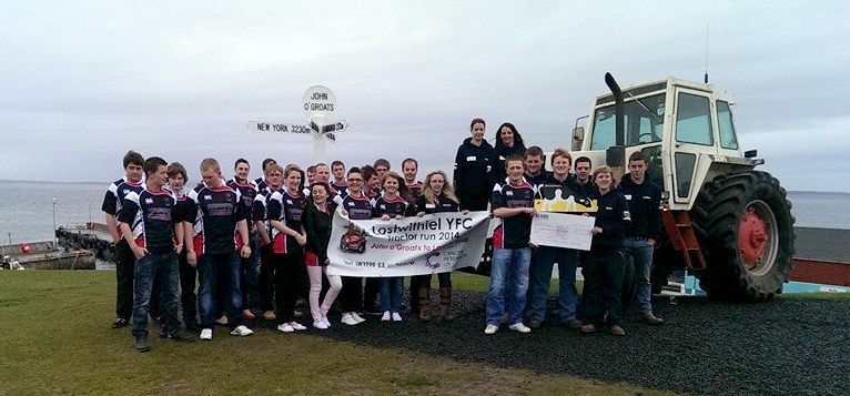 Lostwithiel YFC at Land's End