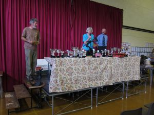 Judging at the Annual Show