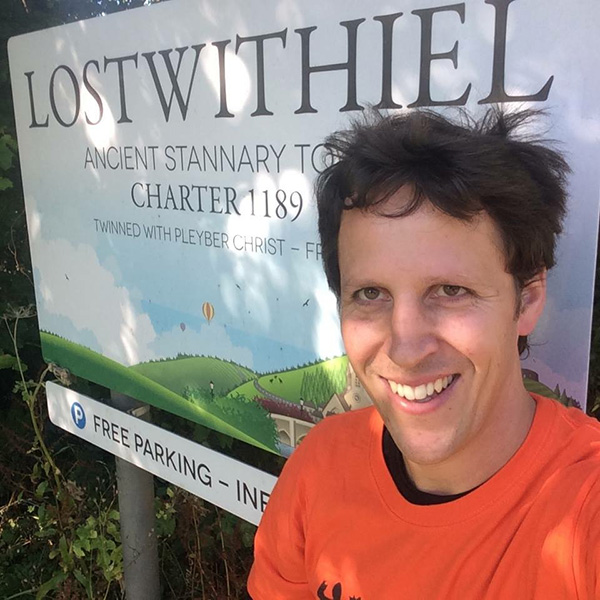Dominic Bond training in Lostwithiel