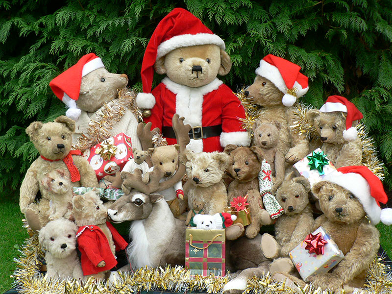 Christmas bear fair