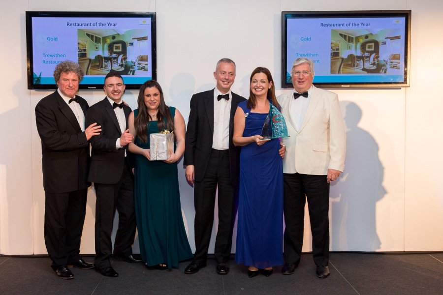 Trewithen Restaurant win Gold at the Cornish Tourism Awards