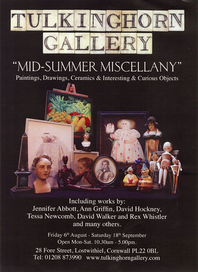 Mid-Summer Miscellany at Tulkinghorn Gallery