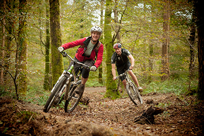Lanhydrock cycle trails (c) Steve Hayward, National Trust