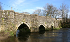 Medieval bridge at Lostwithiel