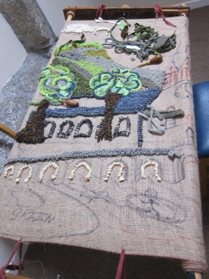 Community rug of Lostwithiel