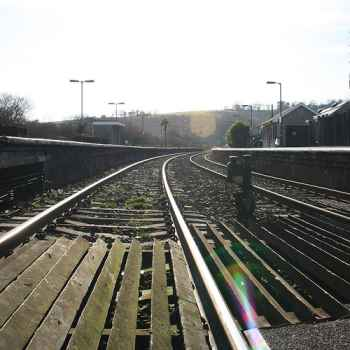 Tracks at Lostwithiel Station