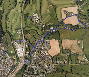 Polscoe loop walk